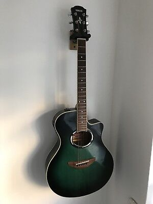 Yamaha Apx500ii Electro-Acoustic, Emerald Green burst, built-in tuner (+strap)