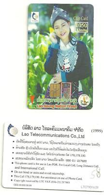 LAOS - 1050 units - costume traditionnel