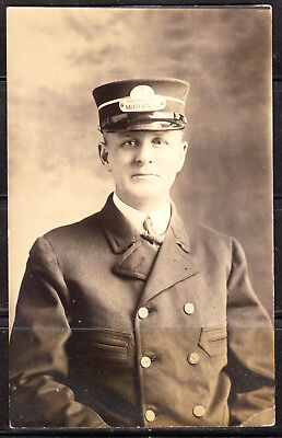 Chester, NH, Chester & Derry Motorman, AZO Real Photo