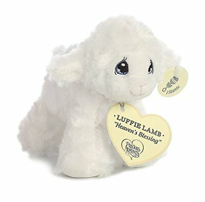 """Precious Moments Luffie Lamb """"Heaven's Blessing"""" Rattle (White)"""
