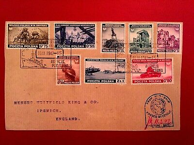 Poland,ww Ii,polish Gov In Exile-Famous Postal Agency No 15-Extremely Rare !!!!!
