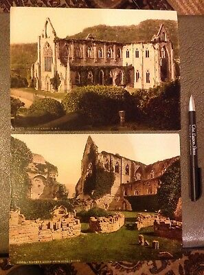 2 Large RP Photographs Tintern Abbey Monmouthshire (2)
