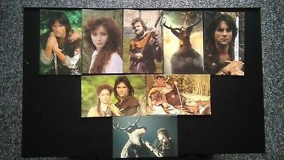 16 x Robin of Sherwood Exclusive Network Limited Edition Promotional Cards