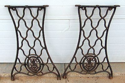 Antique Treadle Singer Sewing Machine Base Legs ~ No Shipping