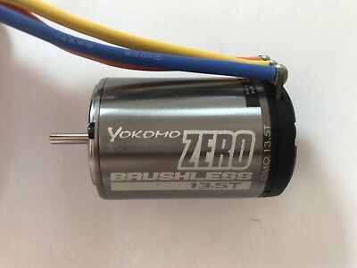 Yokomo Zero 13.5t brushless sensored 1/10 RC motor- Great Condition