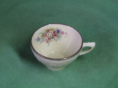 Crown Ducal. Florentine. Picardy. Tea Cup. England.