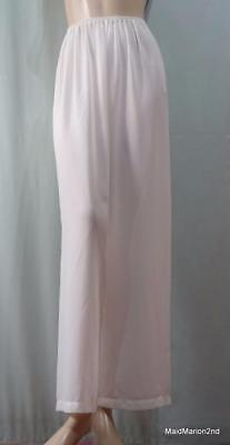 VINTAGE STYLE SAUCY SEE-THROUGH CREAM  LOUNGE PANTS BLOOMERS Sm/Med