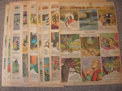 Flash Gordon, 53 sunday Fulls from 1939, complete year!
