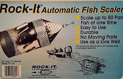 Rock-it Fish Scaler w/safety Kit