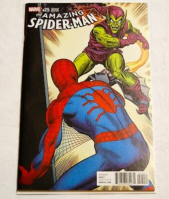 Marvel Comics Amazing Spider-man #25 1:1000 John Romita Remastered Variant