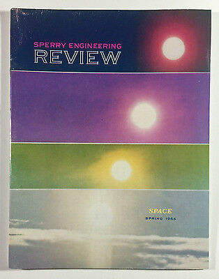 Sperry Engineering Review, Spring 1965, Space Issue, Sperry Gyroscope Company NY