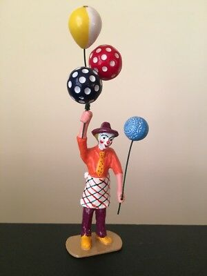 Pride Lines Figure - Std.Ga. - RARE - Clown With Balloons Factory New  1990's