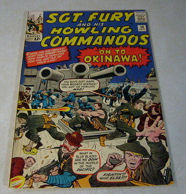 SGT FURY and his HOWLING COMMANDOS #10 AYERS, 1964