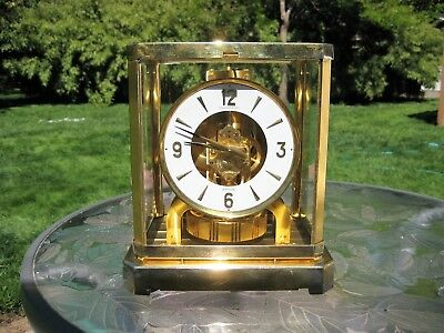 Jaeger Lecoultre Atmos 15 Jewel Mantle Clock 528-8 Not Working
