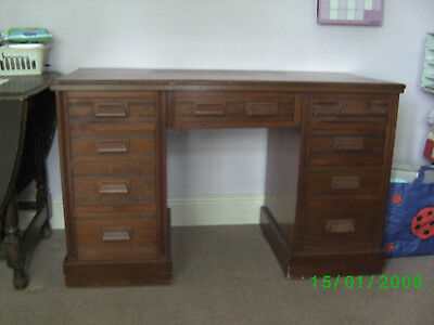 Victorian ? desk or dressing table in need of restoration.