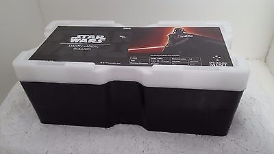 Darth Vader Star Wars Black Monster Box For Silver With Ten Empty Coin Tubes