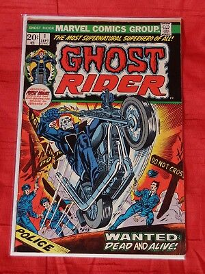 Ghost Rider 1, Very Good+/Fine- No Reserve