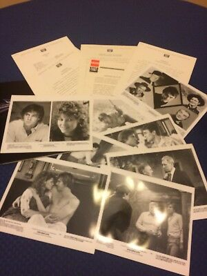1984 Dreamscape Press Kit - Production Information, 8x10 Glossy Photos