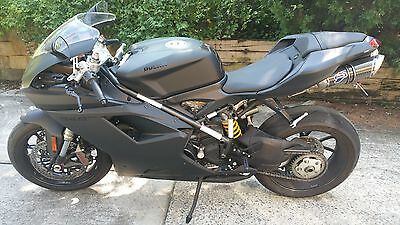 2012 Ducati Superbike  VERY LOW MILEAGE 2012 Ducati 848 EVO - Dark Stealth