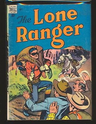 """Lone Ranger # 11 - """"Young Hawk"""" Indian boy begins VG Cond."""