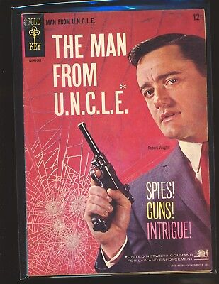 Man From U.N.C.L.E. # 1 VG Cond.