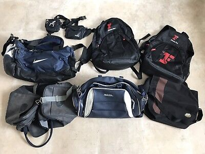 Collection Of Backpacks, Bags, Bumbags, Gym Bags, Duffel Bags