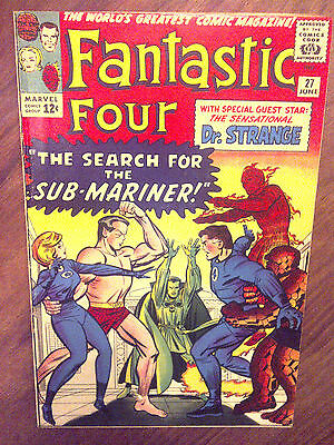 Fantastic Four  #27 VF