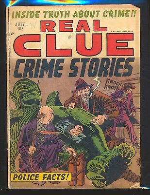 Real Clue Crime Stories Vol. 7 # 5 G/VG Cond.