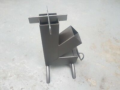 Rocket Stove Cooker Heater Camping Fishing hunting