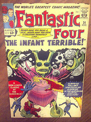 Fantastic Four  #24 F/VF
