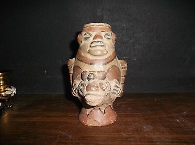Pre Columbian Pottery Vessel Mayan Inca Aztec Dug In Latin America Estate Find