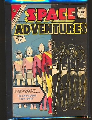 Space Adventures # 48 VG+ Cond.