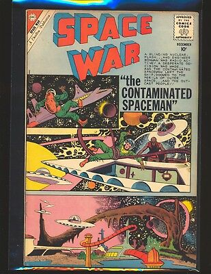 Space War # 8 - Ditko cover & art VG/Fine Cond.