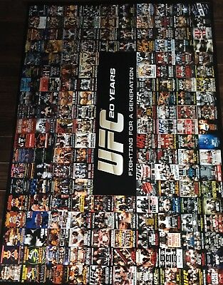 UFC 20 Years Poster, Fighting For A Generation, MMA, Conor McGregor