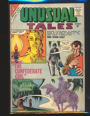 Unusual Tales # 25 - Ditko cover & art VG Cond.