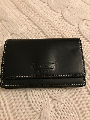 Coach Business Card Holder