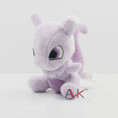 Cute Pokemon Pocket Monster Mewtwo Rare Mew Plush Doll Toys Gift 14 CM