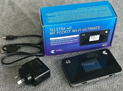 Telstra 4G My pocket Wi-fi Ultimate Aircard 785S mobile hotspot - Unlocked