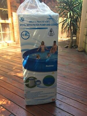 Bestway Pool 12ft with pump and cover