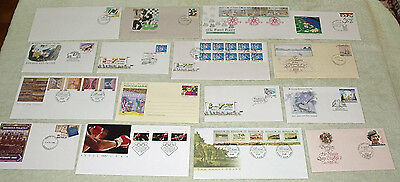 bulk lot - 1988 FIRST DAY COVERS