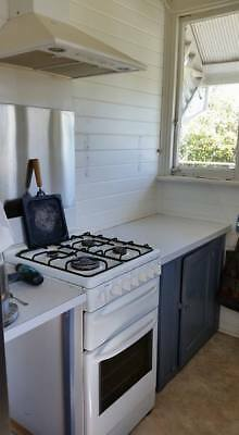 Chef Gas Stove Oven & Robinhood Range Hood - Electric ignition. Fan Forced Oven