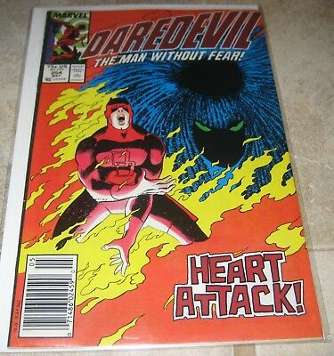 Daredevil Vol 1 #254 Newstand Edition 1st App Typhoid Mary Marvel Comics