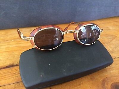 Cool Pair Retro Steampunk Vintage Style Sunglasses In Hard Case