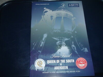 2008 Scottish Cup Semi Final Queen of the South v Aberdeen