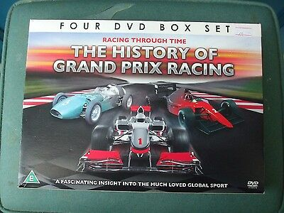 Set Of 4 Dvd's Featuring Motor Racing