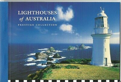 2002 Lighthouses ofAustralia Prestige booklet  with stamps