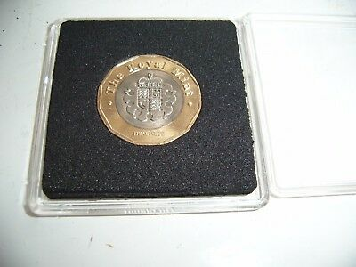 Rare £1 Coin Trial Piece 2015 - New Style 12 Sided One Pound