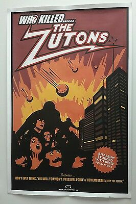 Zutons 2 sided - Promo Poster