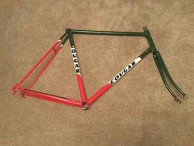 Cougar 531c Classic Road Bike Frame and Forks 57cm