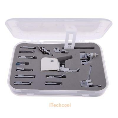 Universal 15PCS Sewing Machines Presser Feet Foot Kit Set #T1K